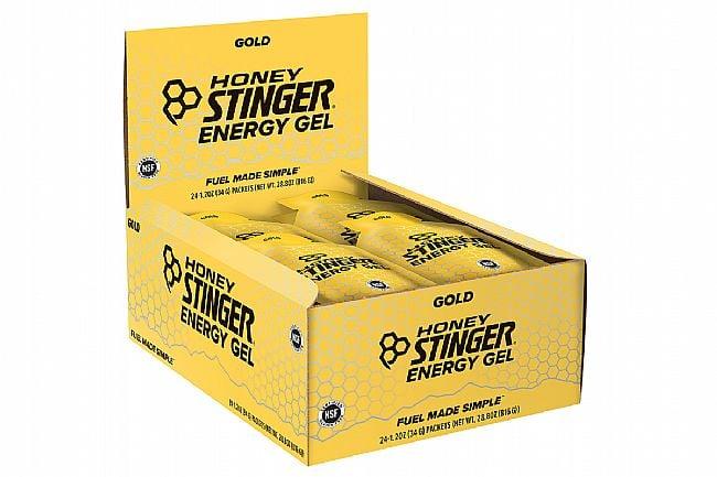 Honey Stinger Classic Energy Gels (Box of 24) Gold