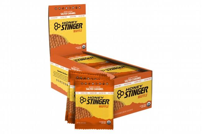 Honey Stinger Gluten Free Organic Waffles (16 Count)  Salted Caramel