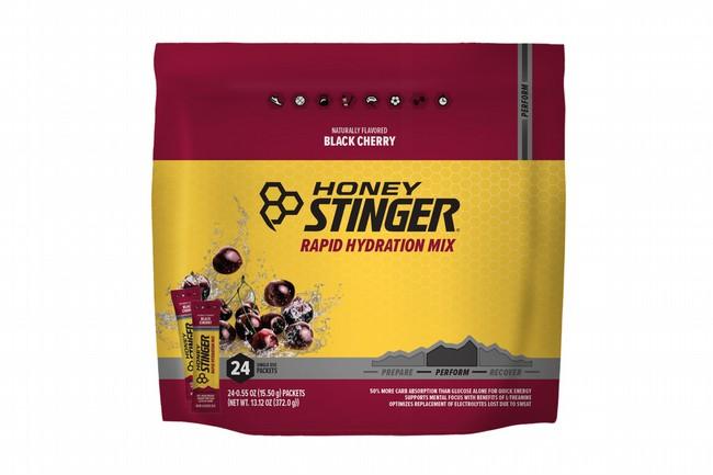 Honey Stinger Rapid Hydration (24 Servings)  Perform - Black Cherry