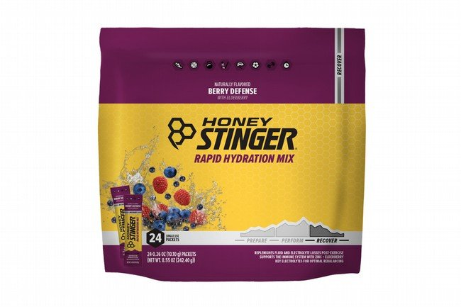 Honey Stinger Rapid Hydration (24 Servings)  Recover - Berry Defense