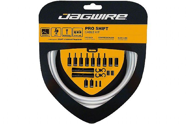 Jagwire Pro Shift Kit  White