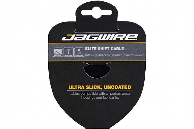 Jagwire Elite Ultra-Slick Derailleur Cable Stainless Shimano/Sram - 1.1x2300mm