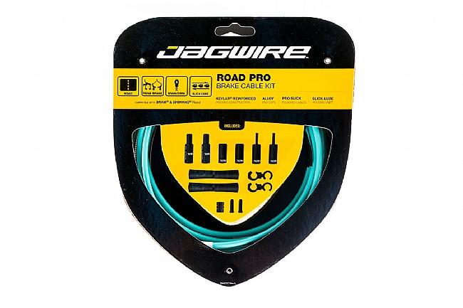 Jagwire Road Pro Polished Brake Cable Kit BIANCHI CELESTE - Sram/Shimano