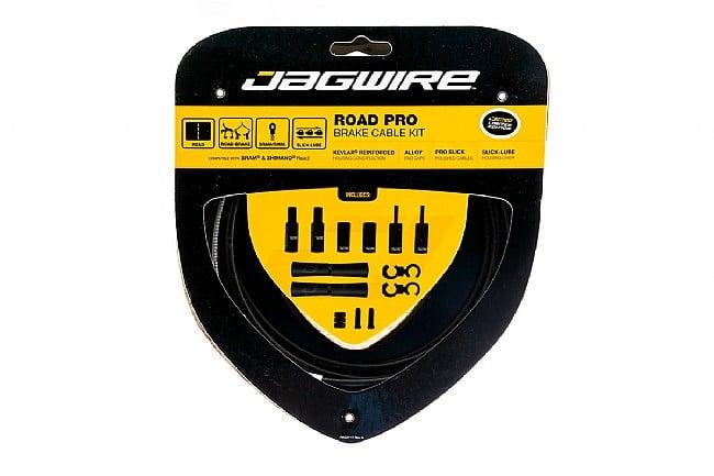 Jagwire Road Pro Polished Brake Cable Kit Stealth Black (Matte) - Sram/Shimano