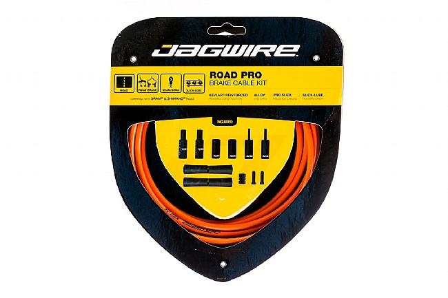 Jagwire Road Pro Polished Brake Cable Kit Orange - Sram/Shimano