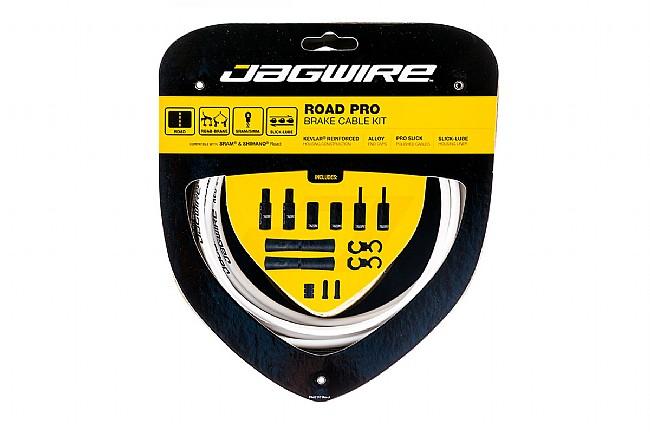 Jagwire Road Pro Polished Brake Cable Kit White - Sram/Shimano