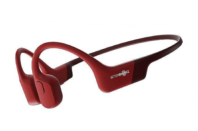 AfterShokz Aeropex Wireless Open Ear Headphones Solar Red