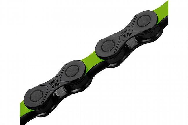 KMC DLC 12x126 MTB Chain Green