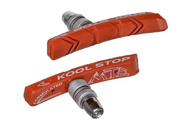 Kool Stop Threaded MTB Brake Pads Wet Condition (Salmon)