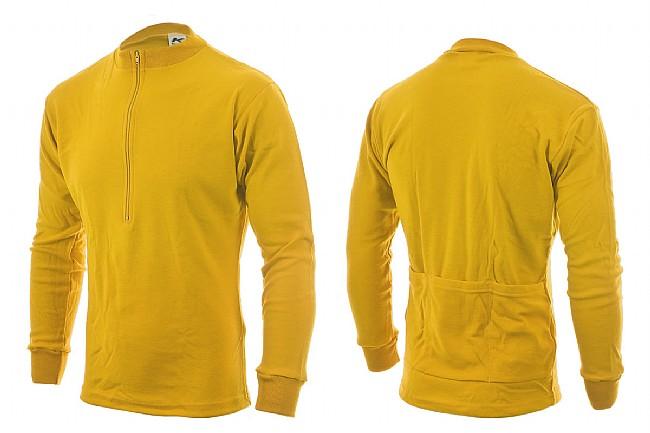 Kucharik Long Sleeve Wool Jersey Yellow