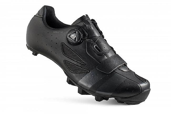 Lake MX218-X Wide MTB Shoe Black/Grey