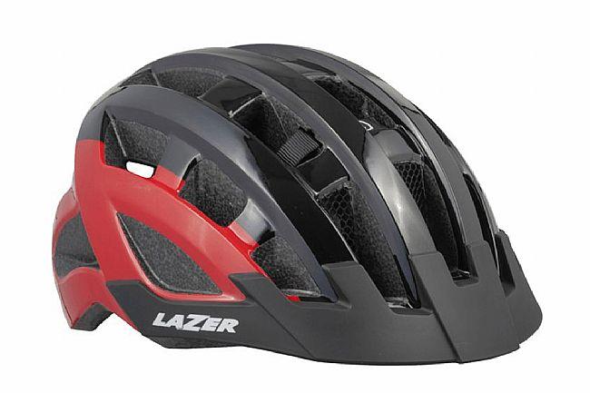 Lazer Compact DLX Helmet Black Red