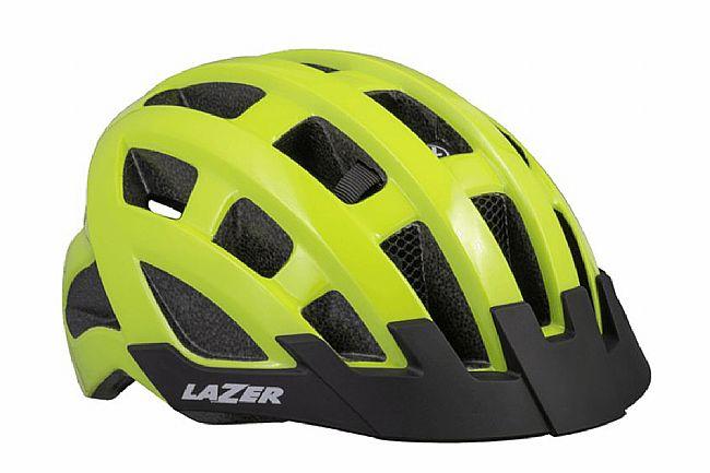 Lazer Compact DLX Helmet Flash Yellow