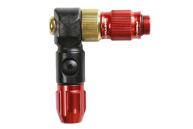 Lezyne ABS1 Pro Pump Head High Pressure (Red)