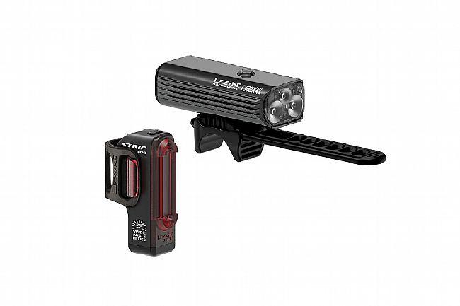 Lezyne Macro Drive 1300XL / Strip Pro Light Set Lezyne Macro Drive 1300XL / Strip Pro Light Set