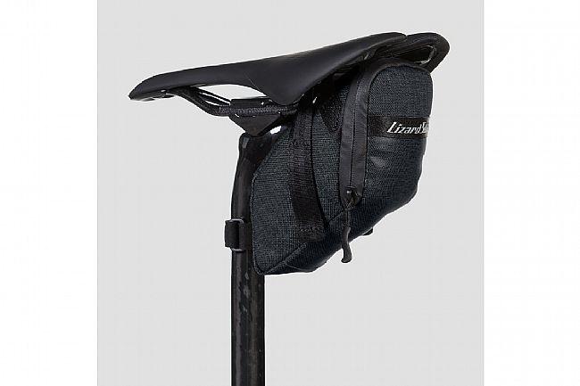 Lizard Skins Super Cache Saddle Bag Jet Black