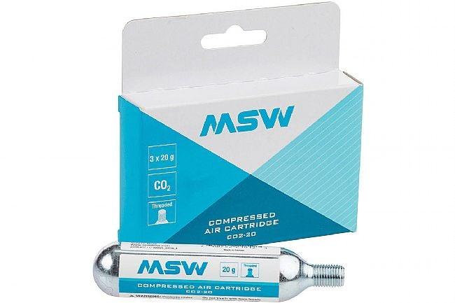 MSW 20g CO2 Cartridge 3-Pack MSW 20g CO2 Cartridge 3-Pack