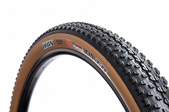 """Maxxis Ikon 29"""" EXO/TR MTB Tire Dark Tan Wall"""