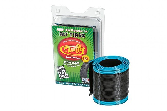 Mr. Tuffy XL Series Tire Liners for Fat Bikes 4XL - 26/29 x 4.1-5.0 (Teal)