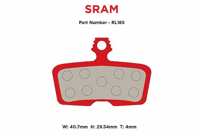 MTX Braking Red Label RACE Brake Pads SRAM Code 2011-up