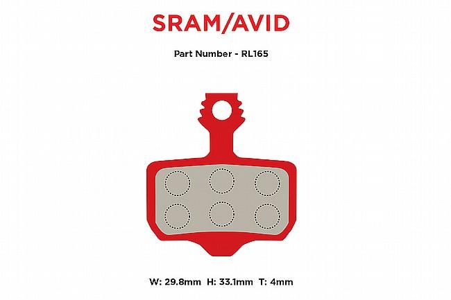 MTX Braking Red Label RACE Brake Pads SRAM Level