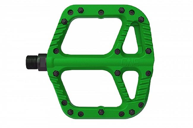 OneUp Components Comp Platform Pedals Green