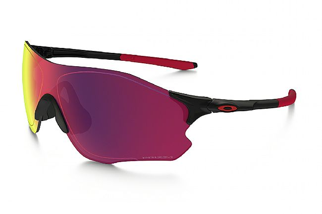 Oakley EVZero Path Sunglasses Polished Black - Prizm Road