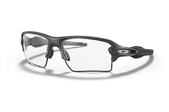 Oakley Flak 2.0 XL  Polished Black - Clear Lenses