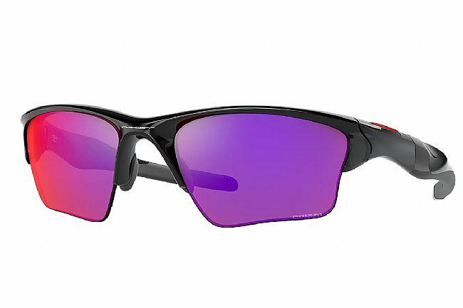 Oakley Half Jacket 2.0 XL Sunglasses Polished Black w/PRIZM Road