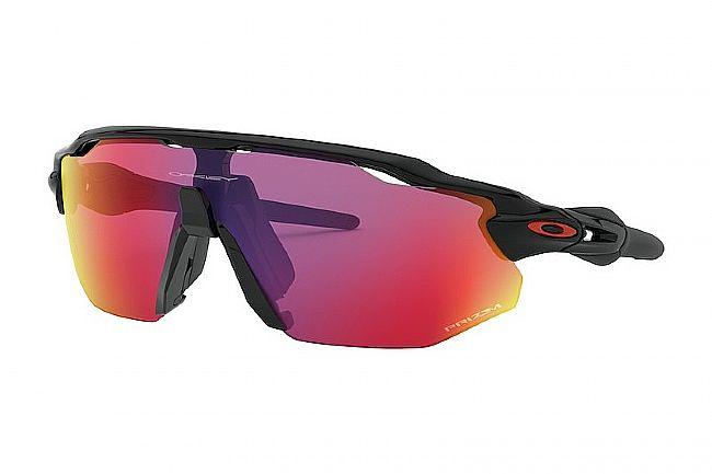 Oakley Radar EV Advancer Sunglasses Polished Black - Prizm Road Lenses