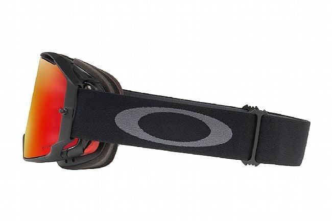 Oakley Airbrake MTB Goggles Black/Gunmetal - Prizm Trail Torch Lenes