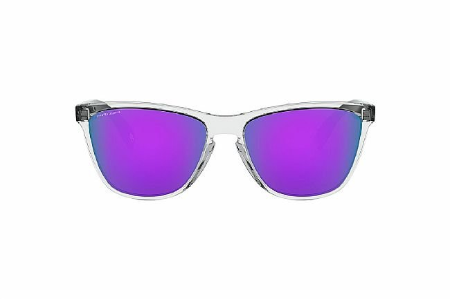 Oakley Frogskins 35th Anniversary Sunglasses Polished Clear w/ Prizm Violet