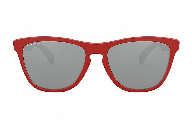 Oakley Origins Frogskins Sunglasses Matte Redline/Black Ink - PRIZM Black