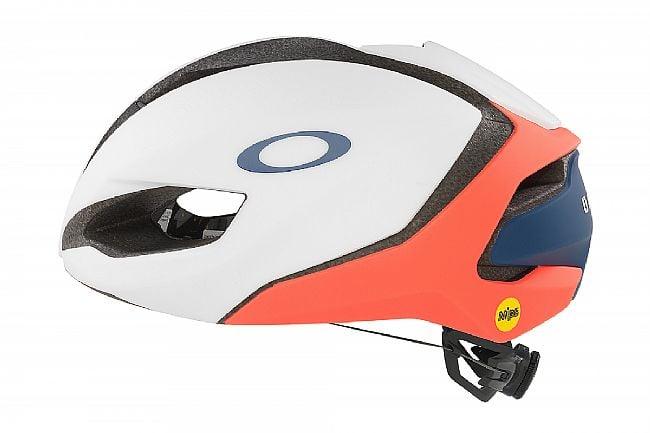 Oakley 2021 ARO5 Tour De France Road Helmet White/Salmon/Navy