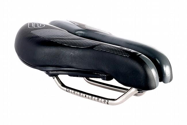 BiSaddle SRT 2.0 Bonneville Cutout Saddle Titanium Rails