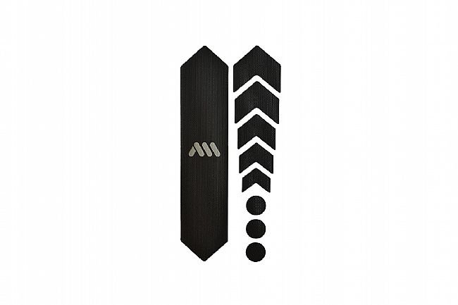 All Mountain Style Honeycomb Frame Guard - Basic Black