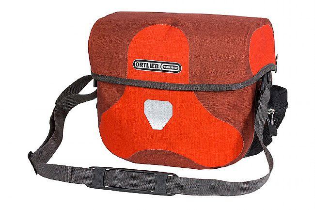 Ortlieb Ultimate Six Plus Handlebar Bag Signal Red/Dark Chili 7L