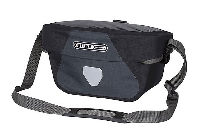 Ortlieb Ultimate Six Plus Handlebar Bag Granite/Black 5L