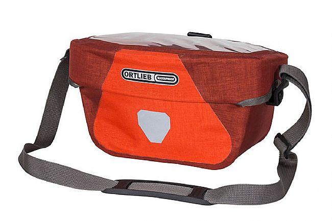 Ortlieb Ultimate Six Plus Handlebar Bag Signal Red/Dark Chili 5L