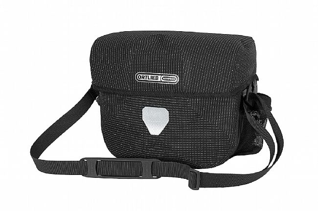 Ortlieb Ultimate Six High Visibility Handlebar Bag Black