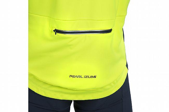 Pearl Izumi Mens Interval AmFib Jacket Screaming Yellow / Navy