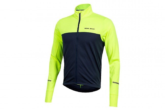 Pearl Izumi Mens Quest Thermal Jersey Screaming Yellow / Navy