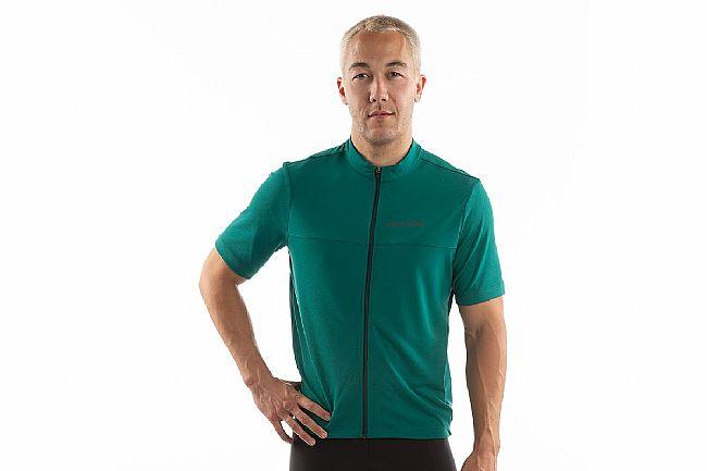 Pearl Izumi Mens Quest Short Sleeve Jersey ( Past Season ) Alpine Green/Pine