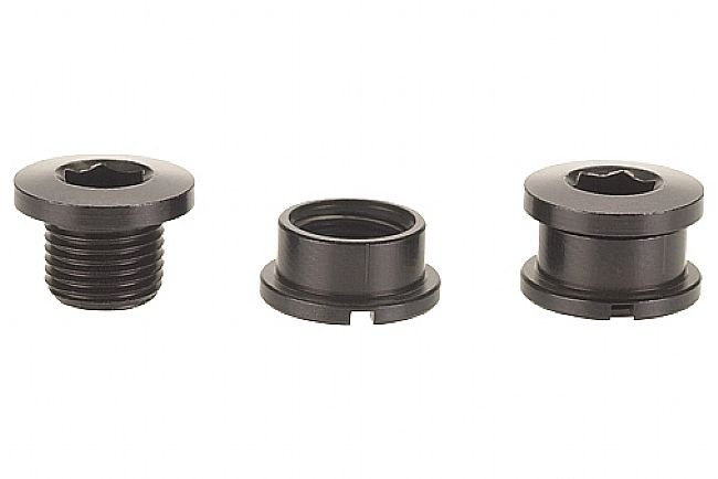 Problem Solvers Single Chainring Bolts Black