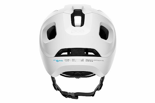 POC Axion SPIN MTB Helmet Matt White