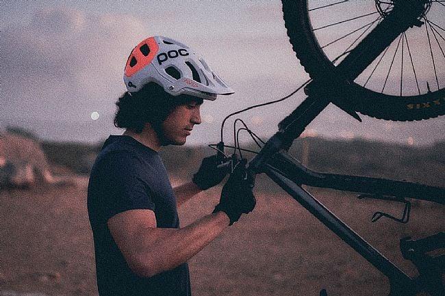 POC Tectal Race SPIN NFC MTB Helmet POC Tectal Race SPIN NFC MTB Helmet