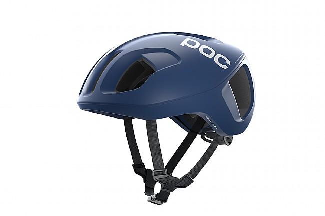 POC Ventral SPIN Road Helmet Lead Blue Matt