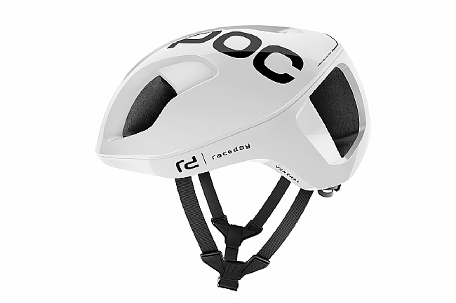 POC Ventral SPIN Road Helmet Hydrogen White Raceday