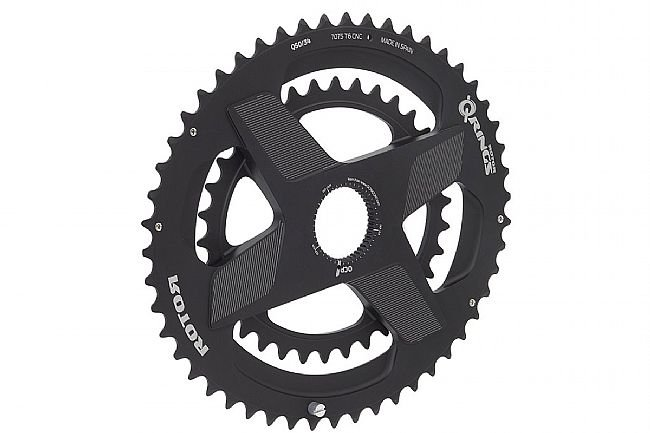 Rotor Aldhu Q Spidering Oval Direct Mount Chainring Set Rotor Aldhu Q Spidering Oval Direct Mount Chainring Set