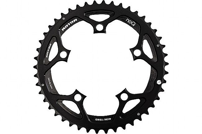 Rotor NoQ Round Chainrings - 110x5 BCD Outer Non-Aero Rotor NoQ Round Chainrings - 110x5 BCD Outer Non-Aero